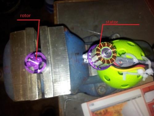 stator vs rotor